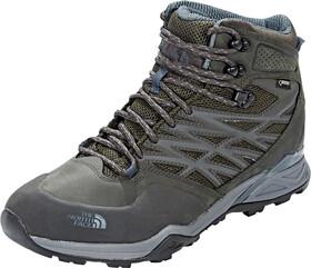 The North Face Hedgehog Hike Mid GTX Chaussures Homme, Beluga GreyDark Slate Blue